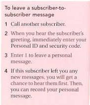 Coral message center user guide if you identify yourself to the system as a subscriber by entering your personal id you can leave the subscriber a message m4hsunfo