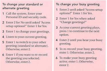 Coral message center user guide by recording an alternate greeting you can switch back and forth between your alternate and other greetings without having to record a m4hsunfo