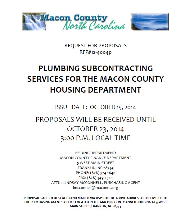 macon county nc finance department