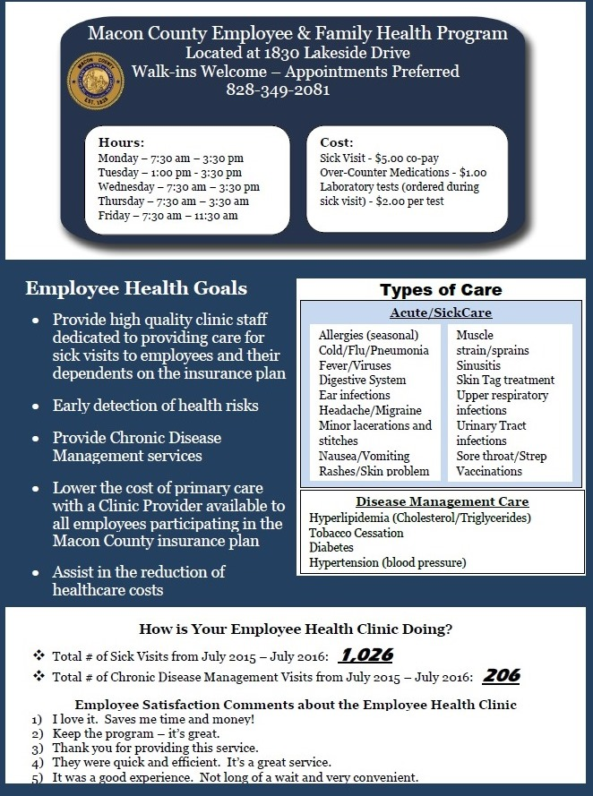employee services macon county nc