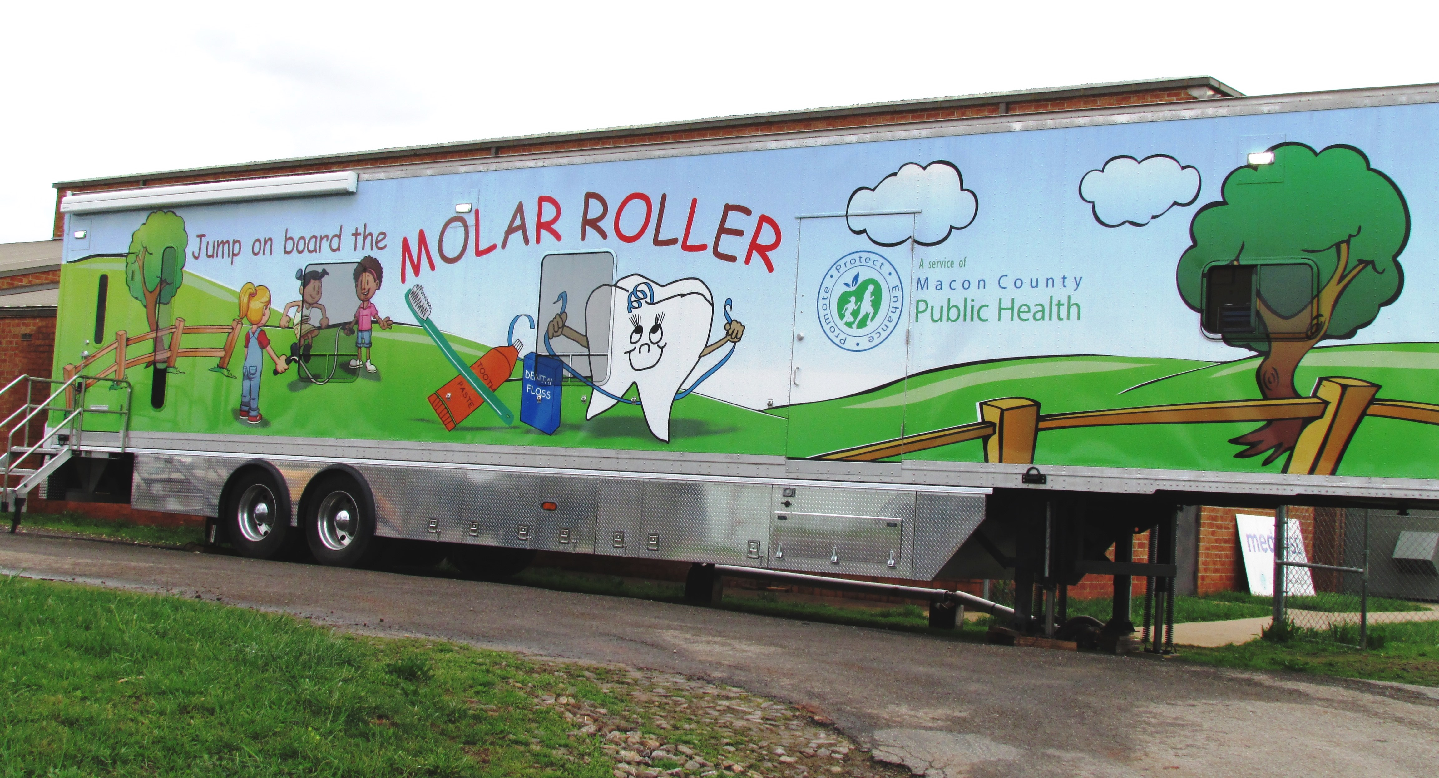 molar roller macon county health department franklin nc