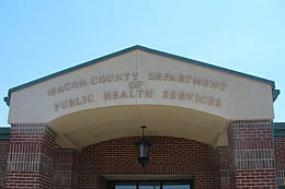 macon county nc health department franklin highlands nantahala north carolina