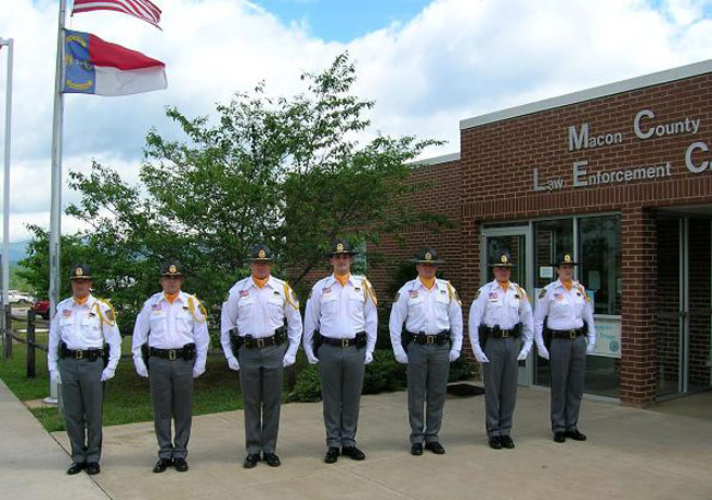 macon county nc sheriff honor guard